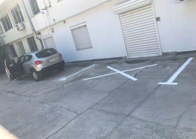 Разчертаване паркинг (11)