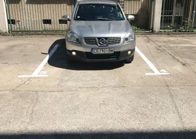 Разчертаване паркинг (10)